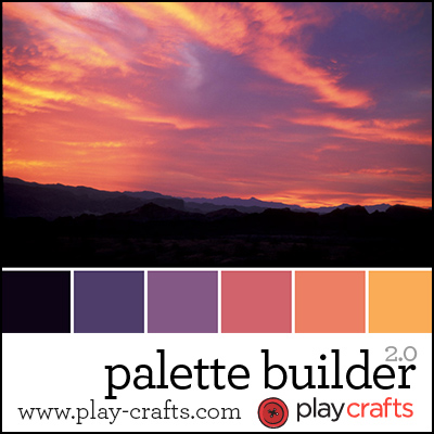 Upload your photo to create an amazing palette! Thanks Play-Crafts.