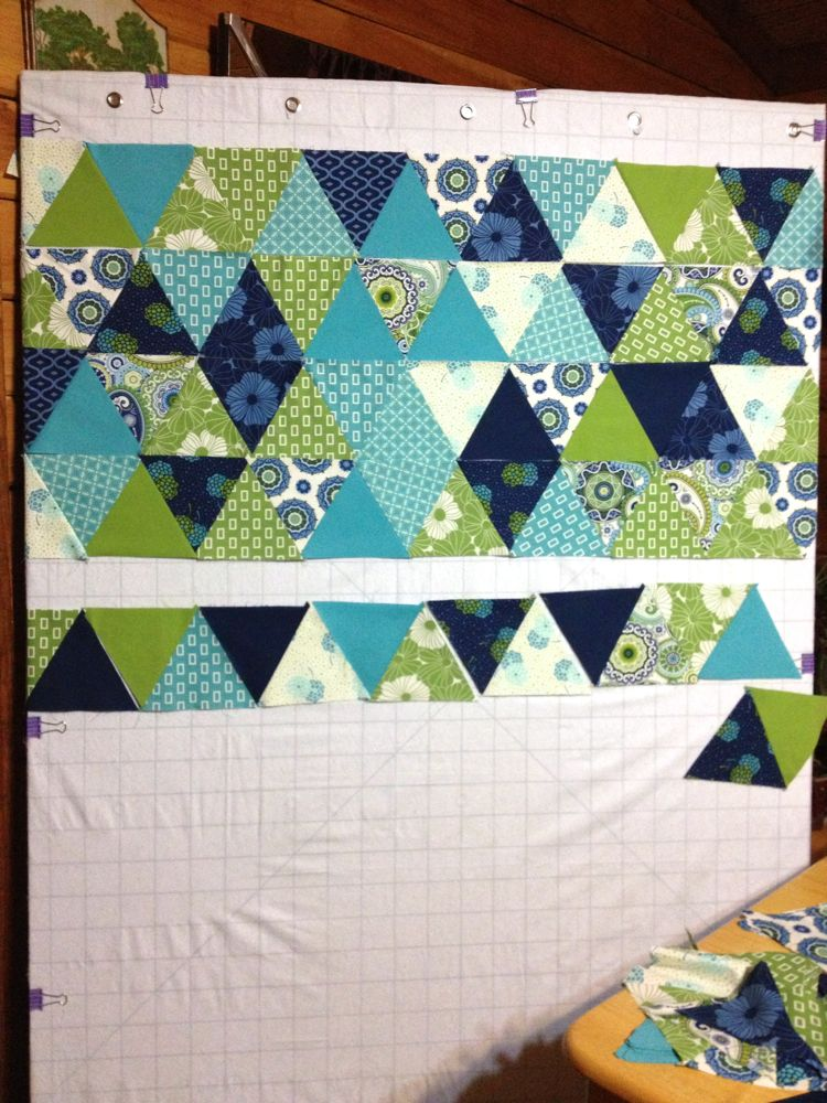 How to make your own Design Wall! - The Sassy Quilter