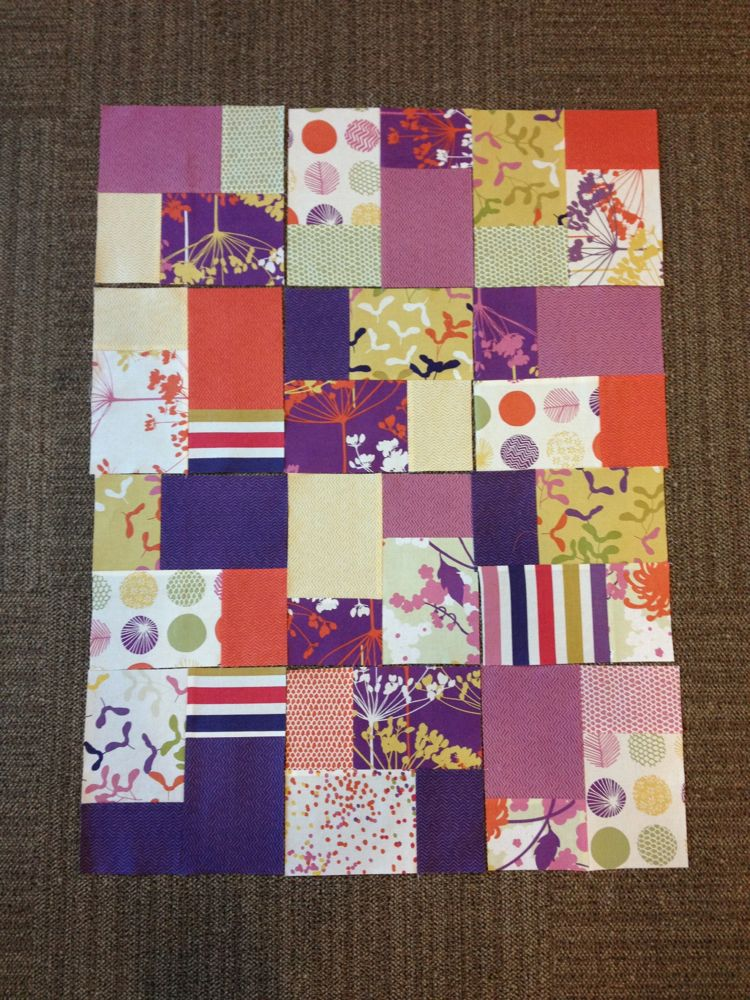 Double Slice Layer Cake Quilt Pattern Free : Free Quilt Patterns   Double Slice The Sassy Quilter ...