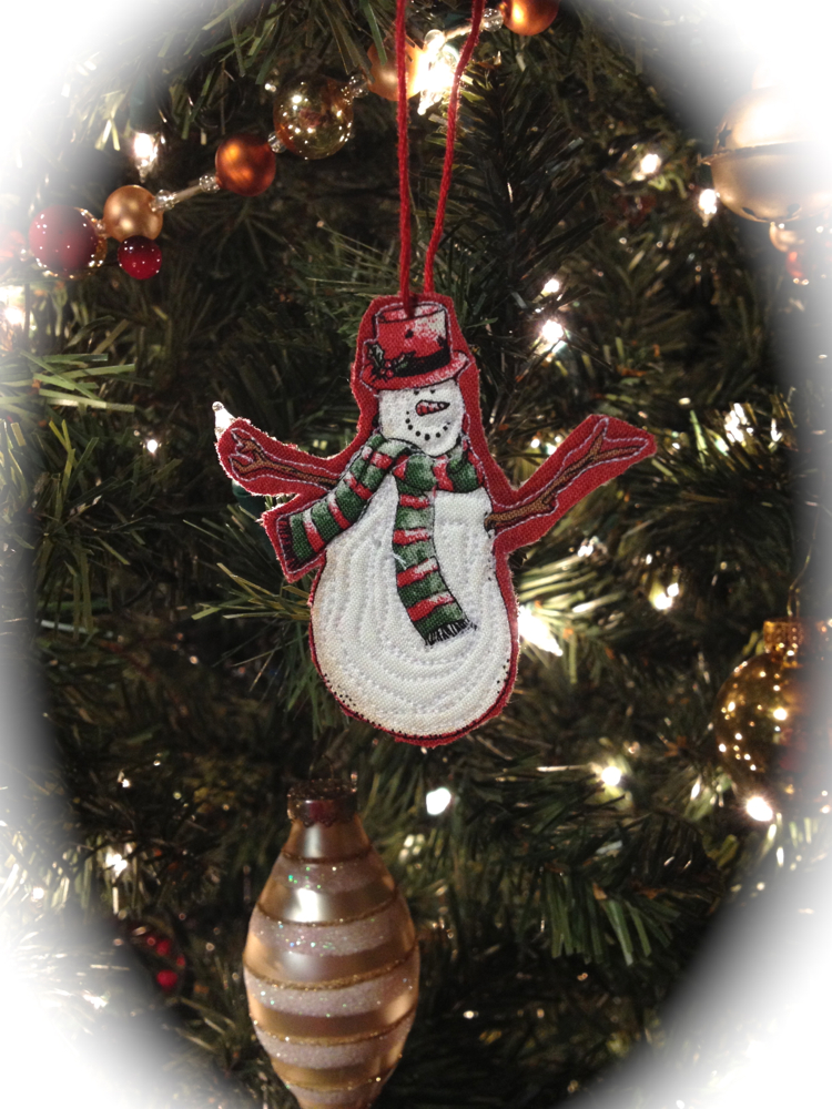 Snowman Ornaments The Sassy Quilter