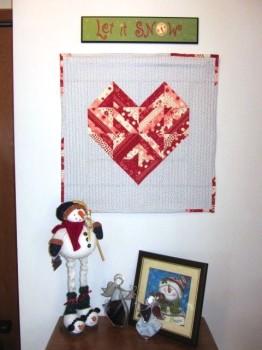 Leesa's Valentine Wall Hanging