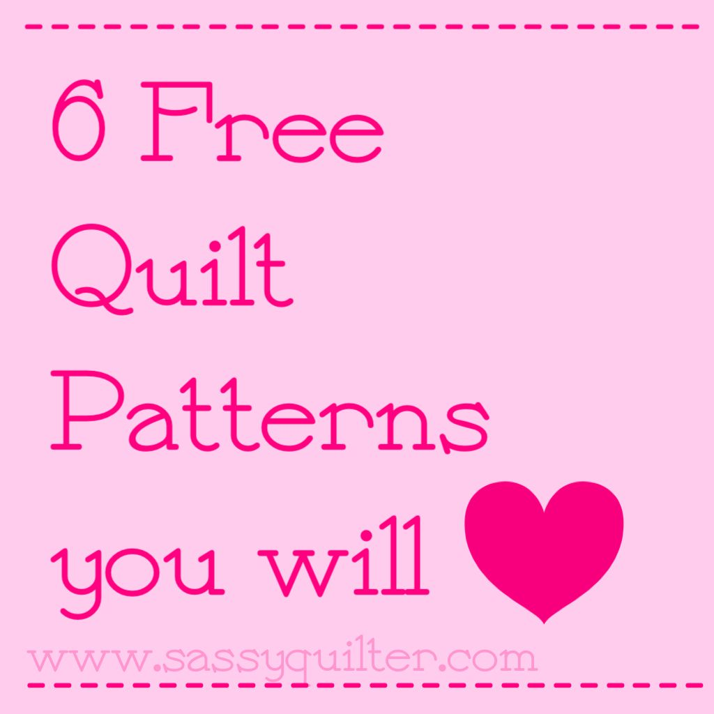 valentine patterns Archives - The Sassy Quilter