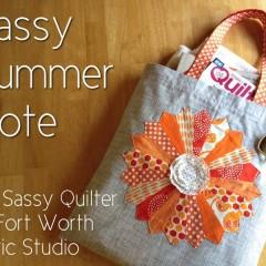 Sassy Summer Tote