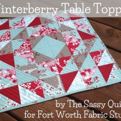 Winterberry Table Topper